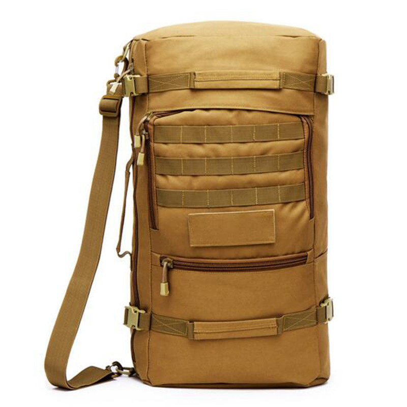 Mens bags nylon backpack Bags 50 l tourist water-proof military high grade 17 inch laptop bag wear-resisting Fashion camouflage<br>