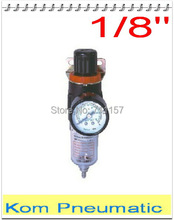 "Pneumatic Air Source Treatment Unit , Air Filter Regulator With Pressure Gauge, AFR1500 1/8"" , Free Shipping"