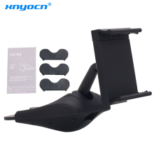 Suporte Para Celular Low Price Hot Sale Universal free Shipping Car Cd Slot Phone Auto Mount Holder for Gps, Smartphone,mp4 Etc(China)