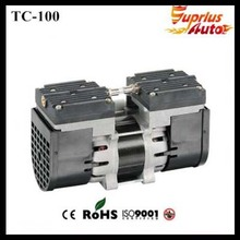 Quality Guaranteed. 110V /220V (AC) 24L/MIN 100 W oil free diaphragm pump 3.6 bar TC-100  vacuum pump hot selling