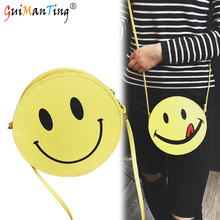 Luxury Smiling Face Handbags Women Mini Small Shoulder Bags Designer Student GG Tote Purses Crossbody cc Messenger Girl Wallet(China)