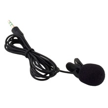 1pc 30Hz~15000Hz 3.5mm Hands Free Clip On Mini Lapel Microphone for Phone MP3/MP4 PC Laptop Tablet Skype MSN(China)