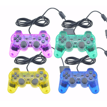 Wired Shock Remote Controller For PS2 Wired Game Controle Joypad For Sony PS2 Wired Controller Gamepad Accessories