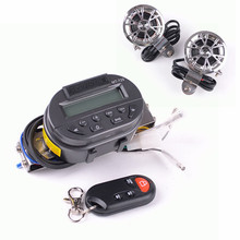 Support SD card MP3 player With remote control function of motorcycle|Motorcycle audio host with 2 pcs horns(China)