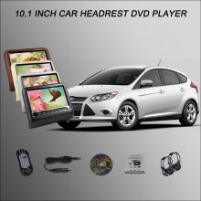 "BigBigRoad For Ford Focus 2 Hatchback 10.1"" Car Headrest Monitor LCD Screen with HDMI USB SD DVD Player Games IR Remote Control(China)"