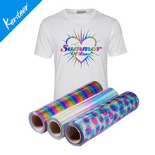 Q3 Kenteer Good Quality Heat Transfer Vinyl Laser With 0.5*25m One Roll