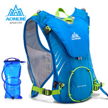 Buy AONIJIE 8L Men Women Outdoor Sports Lightweight Running Backpack Marathon Cycling Hiking Bag With+ 1.5L Hydration Water Bag for $24.80 in AliExpress store