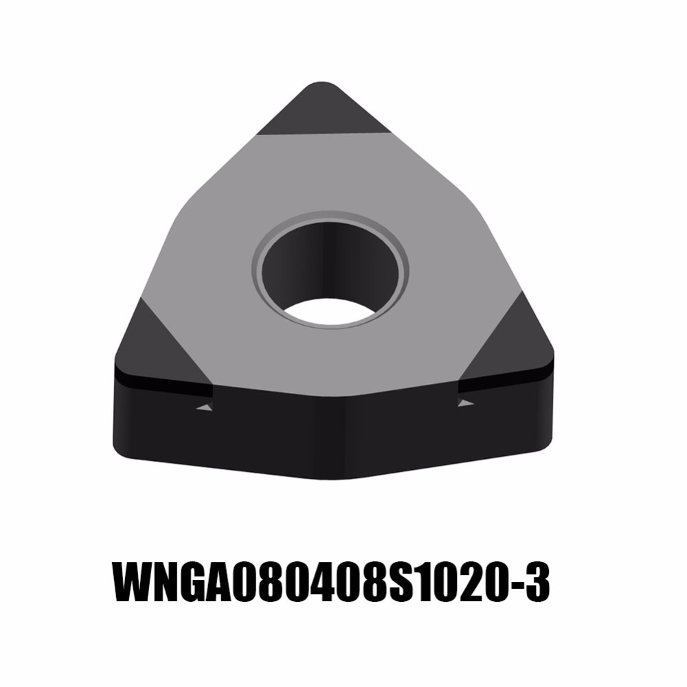1PC WNGA080408S1020-3 YCB012 ZCC.CT CNC CUTTING TOOL CBN TURNING INSERTS SUPER HIGH HARDNESS TURNING TOOL<br>