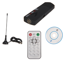 New Pro 1Set RTL2832U+R820T DVB-T SDR+DAB+FM USB 2.0 Dongle Stick Digital TV Tuner Receiver High Quality