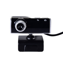 Newest Webcamera for Skype Video HD Beauty Webcamera USB 2.0 Free Drive Web Cam Camera with Microphone Mic for Computer Notebook(China)