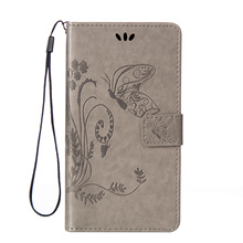 for Nokia Lumia 550 Case Leather Flip wallet Case For Microsoft Lumia 650 640 LTE 950 625 550 Book Style Flower Butterfly Coque