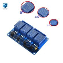 4 way Relay Module 5V 12V 24V 4 Channel Relay Module Shield ARM PIC AVR DSP Electronic 5V 4-Channel Relay Module Arduino