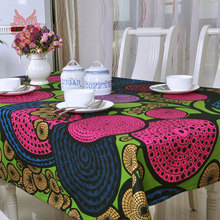 Hot sale Modern style scenic print Table Cloth 100%cotton canvas table cover  for Dining, Kitchen Home Textile SP1122