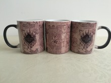 hogwarts mugs marauder's map mug marauders map  heat reveal mug heat changing colour mischief managed tea