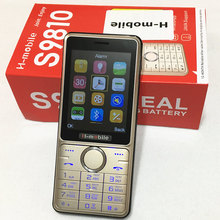 s9810 dual SIM dual standby mobile phone 2.8 inch screen cell phone Russian keyboard phone H-mobile S9810