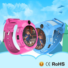 Vm50 Kids Smart Watch phone with Camera GPS Location flashlight Child Touch smartwatch SOS Anti-Lost Monitor Tracker baby pk q90(China)