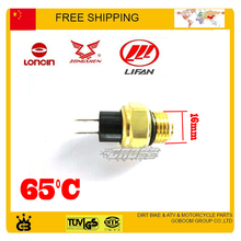 Thermostat 150CC 200CC 250cc ZONGSHEN LONCIN LIFAN engine radiator water box dirt bike ATV parts temperature control 65 degree