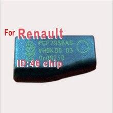 Транспондера ключевых чип ID46 Для Renault ID46 Чип Углерода Замок