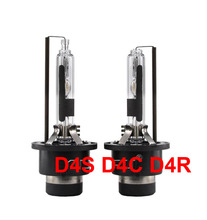 1 Pair 35W D4 D4S D4C D4R Metal Base HID Xenon Replacement Bulbs Genuine AC Lamps Without D4 Adapter Holder 4.3K 6K 8K 10K 12K(China)