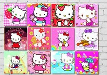 Hello Kitty Quotes Art Print Poster Wall Picture Canvas Painting Living Room Decor No Frame