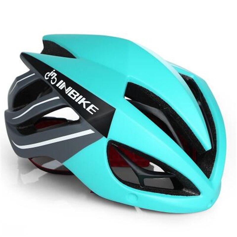 INBIKE Cycling Helmet Bicycle Helmet Magnetic Goggles Mountain Road Bike Helmets Sunglasses Cycling Glasses 3 Lens Bike Helmet<br>