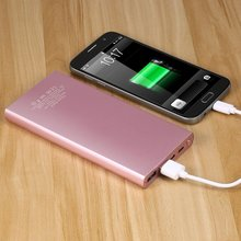 Buy power bank 10000mAh Dual USB Portable USB External Battery Charger PoweBank Type C Quick Charge iPhone 6 Samsung Tablet for $17.85 in AliExpress store