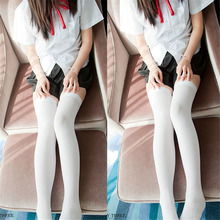 Fashion Sexy Warm Long Stocking Over Knee Stocking and Women Winter Knee High Thigh Knitted japanese Stockings