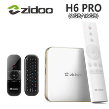 ZIDOO H6 Pro Android 7,0 ТВ Box AllWinner H6 Quad-core Bluetooth 4,1 2 ГБ/16 ГБ 1000 м LAN двойной WI-FI 4 К телеприставки PK X6 Pro(China)