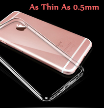 Ultra Thin Crystal Clear Case Cover for iphone 7 6 6s Plus TPU Gel Soft Covers Transparent  Cases for iphone 6s 6 7 Plus  A40