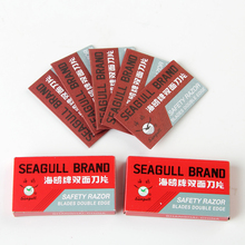 100pcs/Set Safety Razor Blades Double Edge Blades Manual Shaver Blade For Men Shaving De Rasoir Wholesale(China)