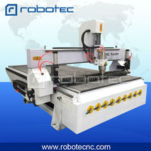 3kw water cooling spindle vacuum table multi heads cnc router for woodworking industry(China)