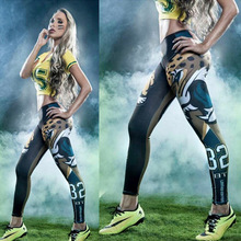2017 Women's Running Pants Compression Tights Sexy Hips Push Up Leggings Fitness Yoga Pants Quick Dry Elastic Trousers(China)