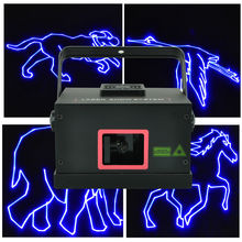 Freeboss A13-B1000 1W 20K ILDA DMX Sound Control Animation Blue Laser Light(China)