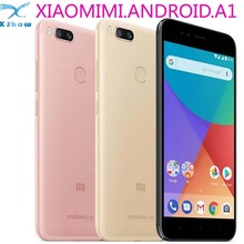 Global Version Xiaomi Mi A1 MiA1 64GB 4GB RAM Smartphone Snapdragon 625 Cellphone 5.5 Inch Dual Cameras 12MP LTE 4G Android One(China)