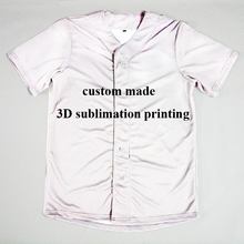 Any Color Any Printing Real US American Size 3D Sublimation Print Custom your own design Button up shirts plus size(China)