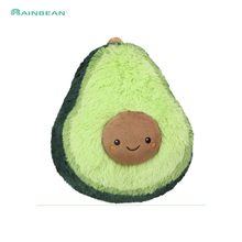 Fruits Plush Plant Toys Kawaii Cartoon Cute Stuffed Doll Avocado Cushion Boys Girls Anti Stress Cushion Pillow For Kids Children(China)