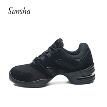 Sansha  Breathable Low Top Salsa Jazz Modern Dance Shoes Women Man Brand Dancing Sneakers H34M