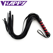 Buy 75cm PVC Sex Spanking Whip Adult Male Female Slave Queen Roleplay Game Flirt toys Couples VP-WP001018A