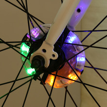 3 Modes Colorful Glow Flashing Bicycle Bike Cycling Wheel Spoke LED Light Lamp 4 Style Lights Optional