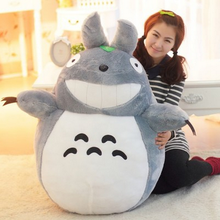 SAINTGI My Neighbor Totoro Plush For Children Soft Stuffed Animals 30-45-60cm Kids Toys Lovely Doll Totoro Lotus Leaf Japan(China)