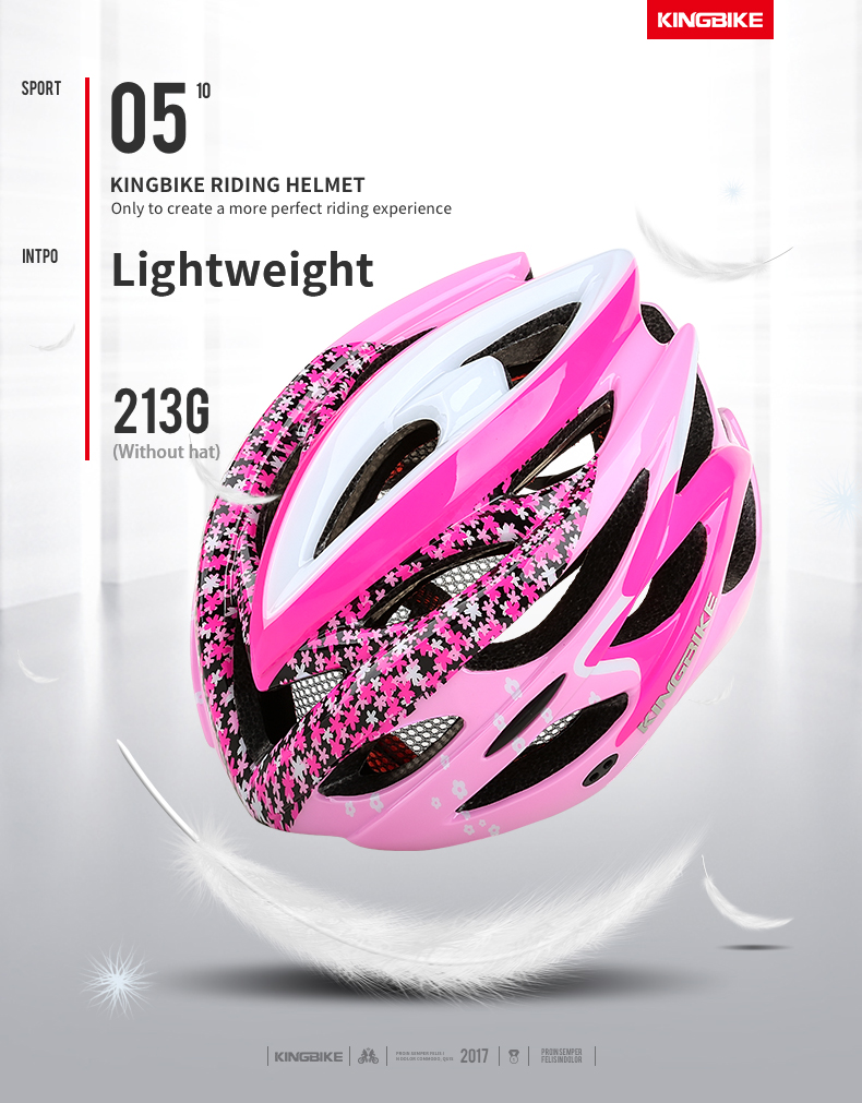 Cycling Helmet Pink Woman Road Bicycle Helmet-5