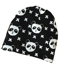 Baby Hat Toddler Beanies Caps Fox Batman Panda print winter cotton Hat Newborn Kids boys baby girls child cap for autumn