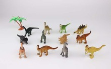 12pcs/lot Plastic Animal Model Toy Figure Dinosaur model Kids Toy Best Model Gift For Children Kids