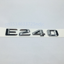 For Mercedes Benz W211 W212 E-Class E240 Trunk Lid Rear Emblem Badge Letter Decal(China)