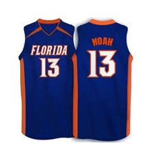 #13 Joakim Noah #55 jason williams Florida Gators White,blue 2007 Basketball Jersey,custom any sizes,all name and numbers are st(China)