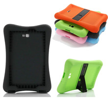 Kiddie Series Light Weight Shock Proof Case for Samsung Galaxy Tab A 10.1'' T580 Rugged Corner Bumper Cover w/ Audio Amplifier