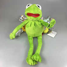 1Pcs/set Hot Sale Cute 40cm Kermit Plush Toys Sesame Street Doll Stuffed Animal Kermit Toy Plush Frog Doll Holiday Gift