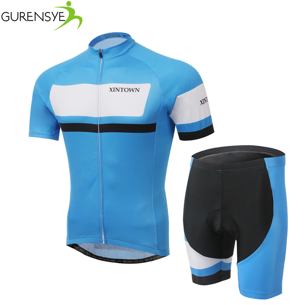 100% Polyester Pro Cycling Jerseys sets Roupa Ciclismo/Summer Breathable Racing Bicycle Cycling Clothing MTB Bike Clothes 2017<br><br>Aliexpress