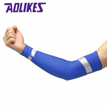AOLIKES 1pcs Sports Basketball Badminton Fitness Elbow Support Knee Brace Sleeve Pads Breathable Sport Safety Elbow Protector(China)