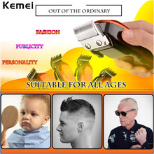 Plug Use Electric Hair Trimmer Power Adjustable Barber Razor Cutter Hair Clipper Shaving Comb 3mm/6mm/10mm/13mm Haircut Machine